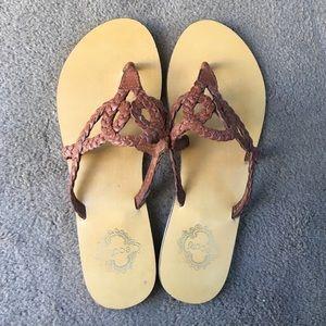 Ecote Braided Sandal - Size 6